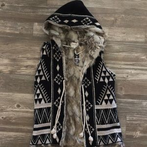 Miss Me Fur Lined Vest